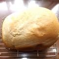 2020/08/09(日)・ホームベーカリーで食パン(早焼きパン)