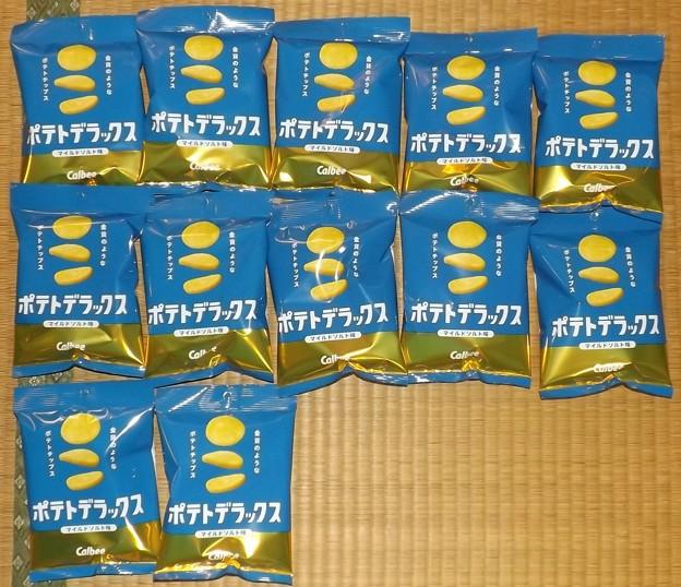 2020/11/14(土)・当選品(ポテトデラックス・マイルドソルト味)・12袋