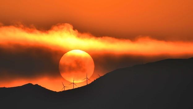 Photos: 風車の向こう