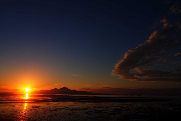 Photos: 今日も日が沈む