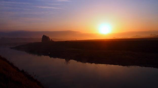 Photos: 静かな夜明け