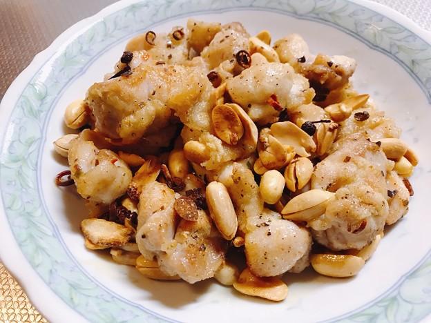 0827_麻ピーで作った中国料理