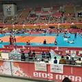 Photos: 1005_ストレッチするイラン、オーストラリア選手