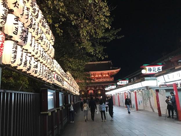 Photos: 1029_浅草寺の夜