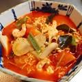 Photos: 0825_トムヤムくんにサリ麺入れてみました