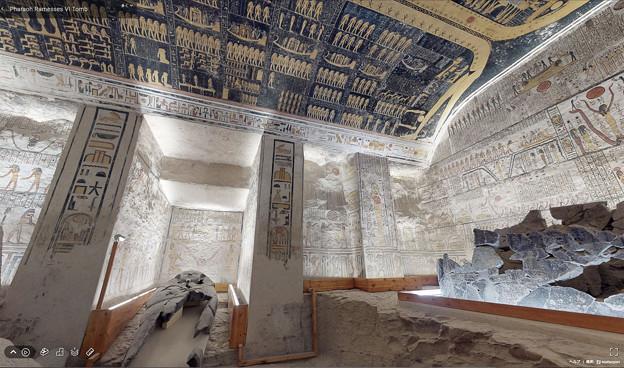 Photos: 0826_ラムセス6世の墓VR