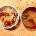 Photos: 1019_なめことナラタケのご飯