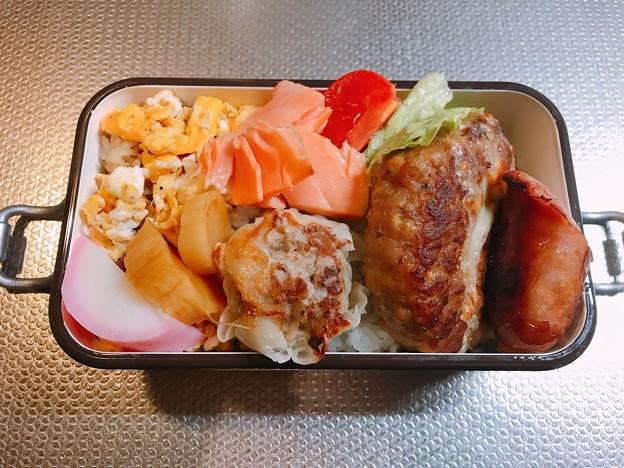 Photos: 0224_チャリ弁・冷凍ハンバーグ