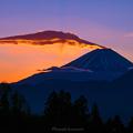 Photos: 吊るし雲の朝焼け