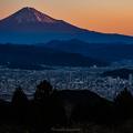 Photos: 静岡側からの赤富士
