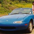 Photos: s03-当時の彼女とロードスター(1991年5月)