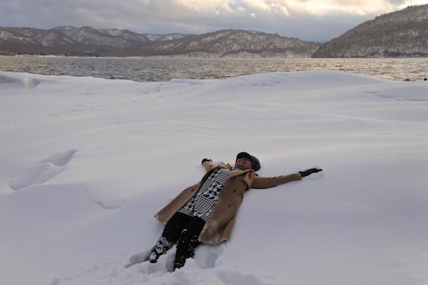 ついに十和田湖に到着