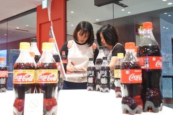 梅田グランフロント大阪にあるコカ・コーラハピネスラボへ