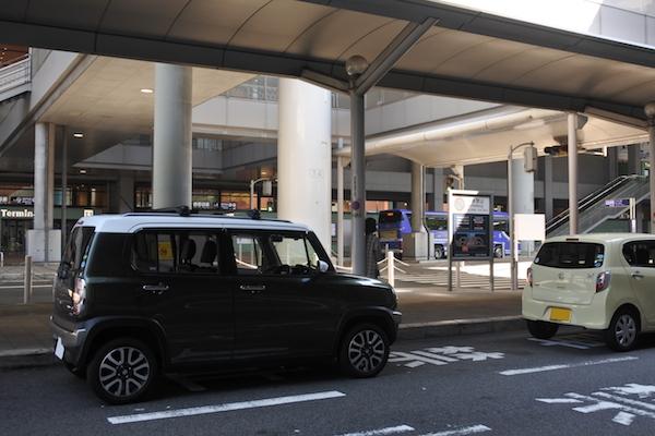 長男と私はハスラーで関西空港へ