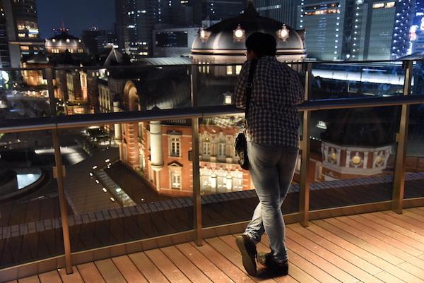 東京駅の駅舎を外からも楽しむ