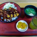 多賀SAでソースカツ丼!