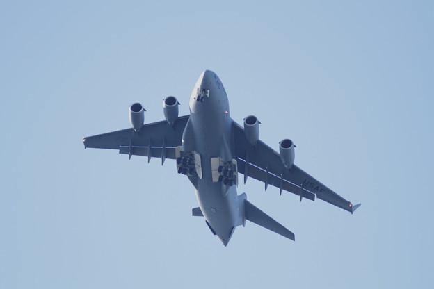 米軍機 着陸1