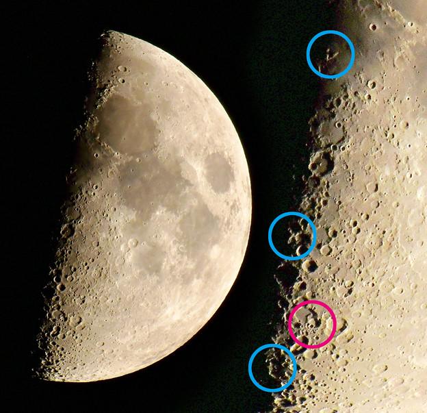 月面V/月面X/月面L/巨神兵