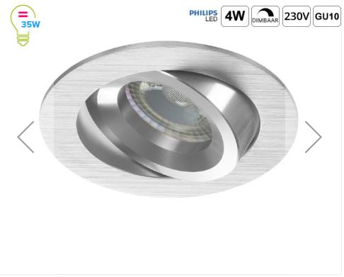 Beste Prijs Online LED Inbouwspots van Nederland