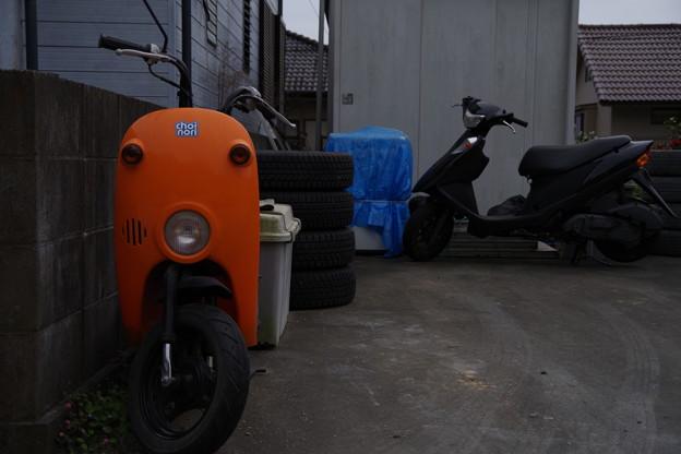 Photos: ミニバイク