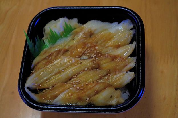 昼食 穴子丼 IMGP1058