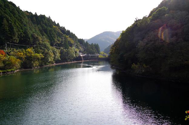 休場ダム湖