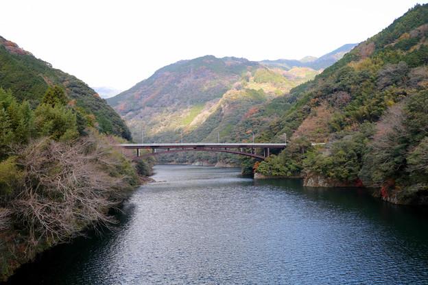 筏津ダム湖の橋 筏津大橋