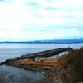 手結港の外堤防