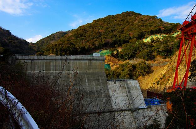 建設中の和食ダム