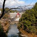 Photos: 鏡ダムの放水