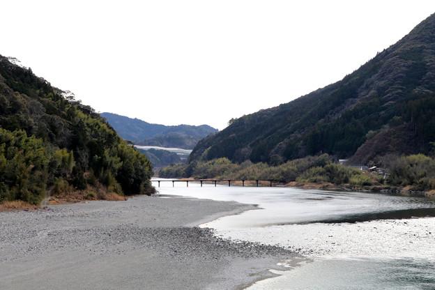 Photos: 名越屋沈下橋