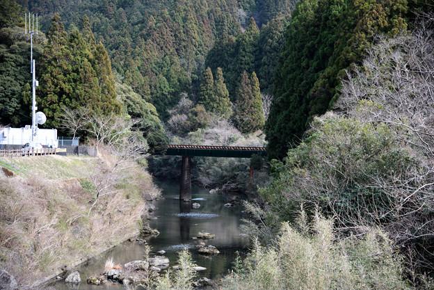 土讃線の鉄橋