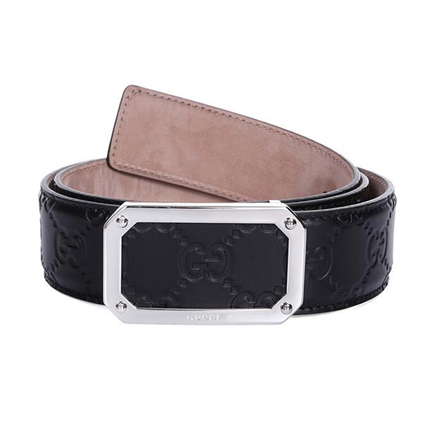 グッチ ベルト メンズ レディースLeather belt 紳士ベルト クラシック GG ベルト 男女兼用 403941 新品