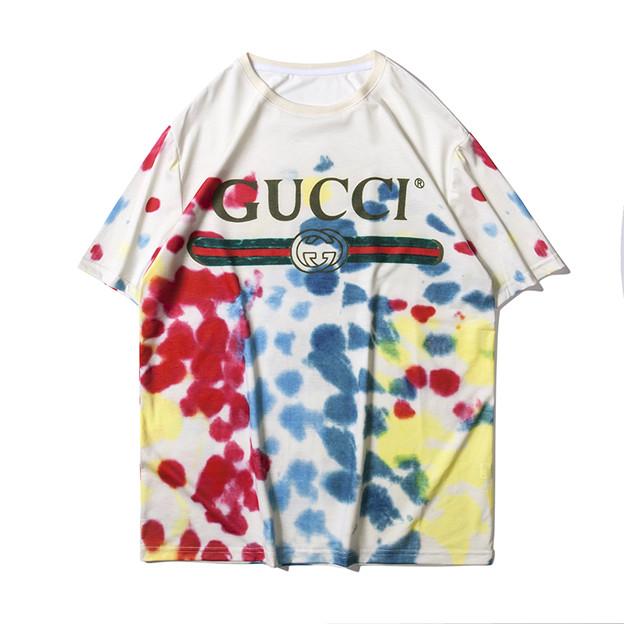 gucci女子ファッション迷彩プリントtシャツセット。グッチ Tシャツ レディース メンズ カットソー 夏ウェア
