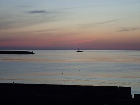 29 GW 山形 由良海岸の夕焼け 4