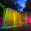 Photos: 鍋ヶ滝ライトアップ♪2