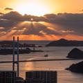 写真: 長崎鍋冠山展望台♪
