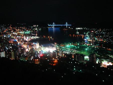 長崎梅松鶴・部屋からの夜景