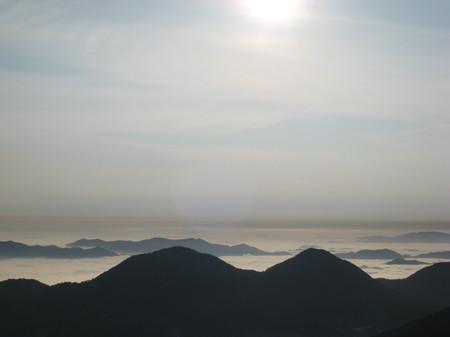 山頂から見る雲海2