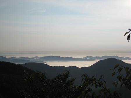 山頂から見る雲海3