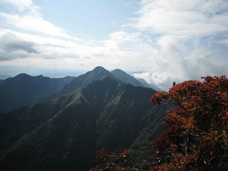 石鎚山山頂からの眺望3
