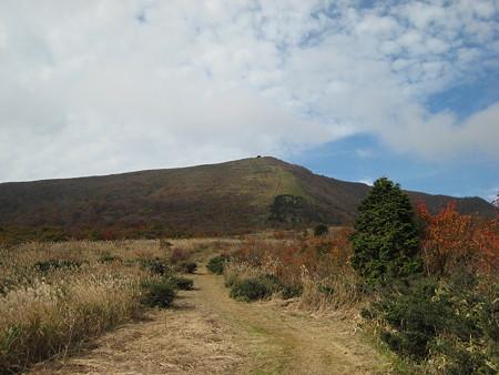 大膳原から望む吾妻山