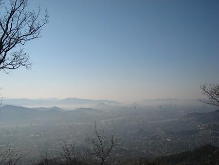 武田山山頂からの景色