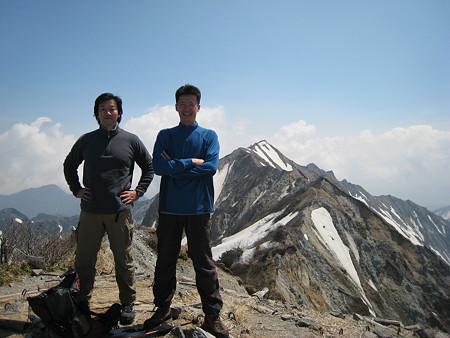 ミノさんと自分と剣ヶ峰