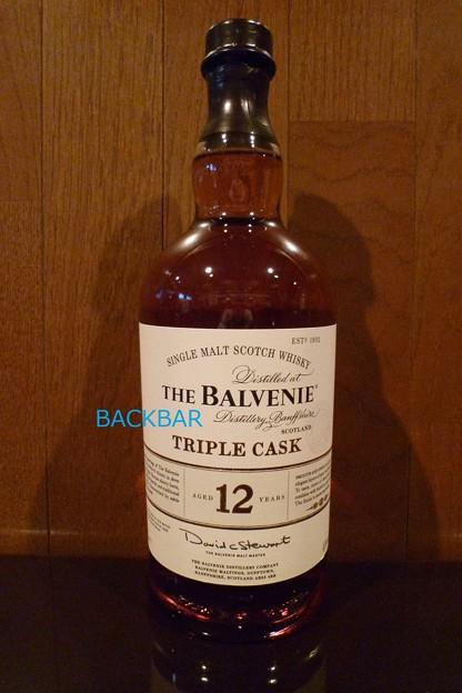 THE BALVENIE 12YEARS TRIPLE CASK 1L