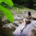 Photos: 渓流での休息