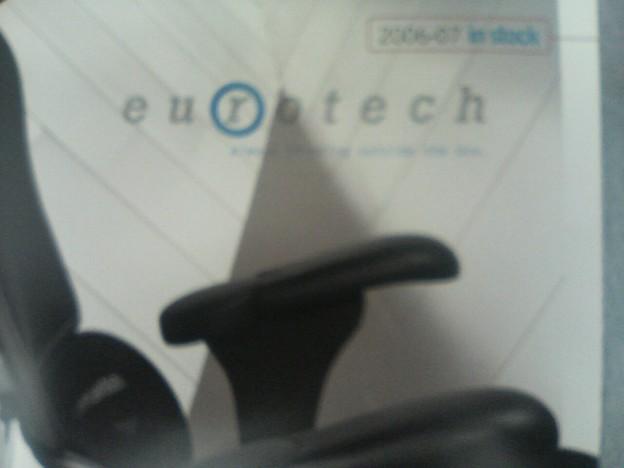 "Euro""tech"" ""Seat"" のくるまです。"