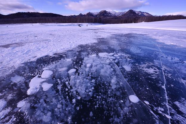 Photos: ice bubble