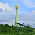 <房総フラワーライン・黄緑の塔>