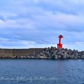 Photos: 乙浜港防波堤灯台